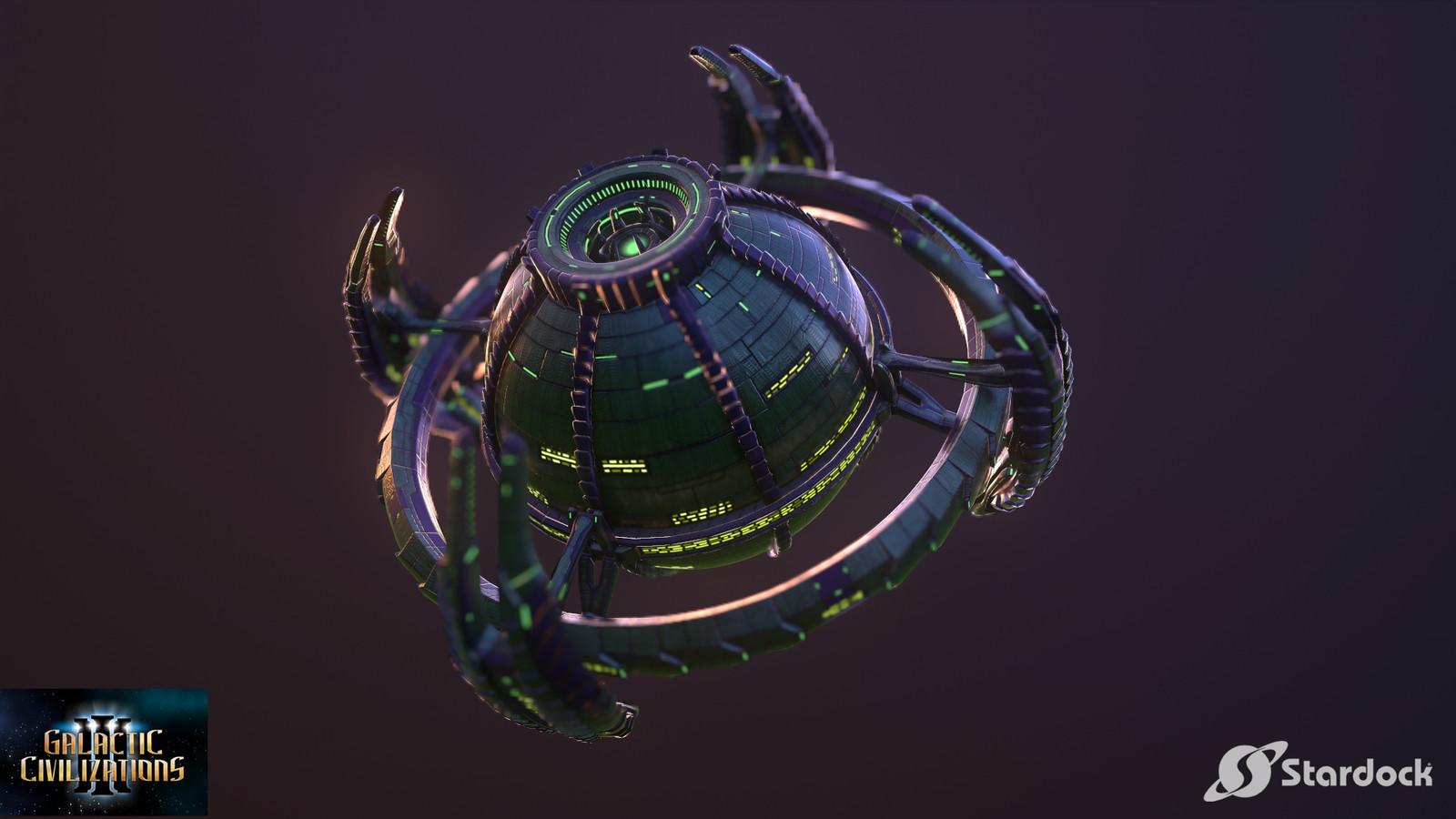 Galactic Civilizations 3 - Thalan Ships
