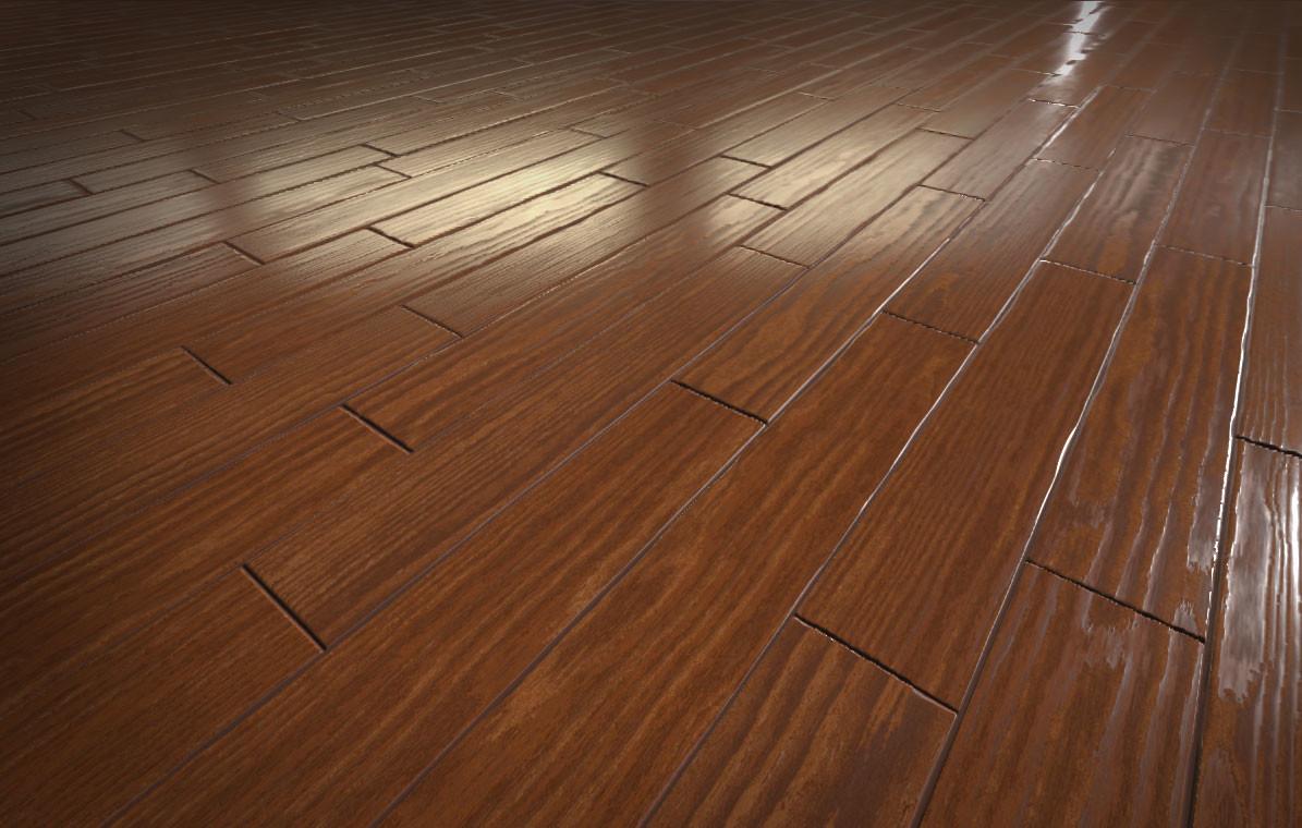 Procedural Wood Floor