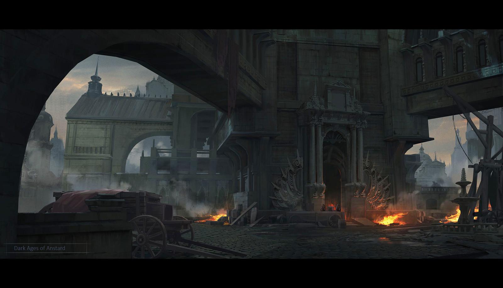 Dark ages of Anstard