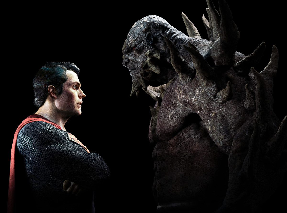 Superman Doomsday Stand off