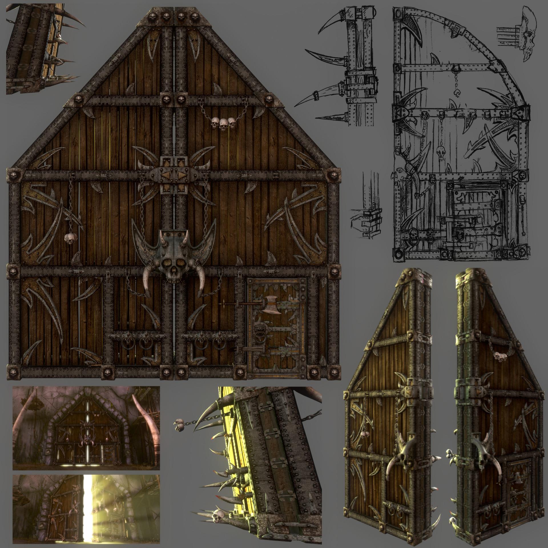 Doors - Gates of Ogrimmar & Seth Thompson - Doors - Gates of Ogrimmar