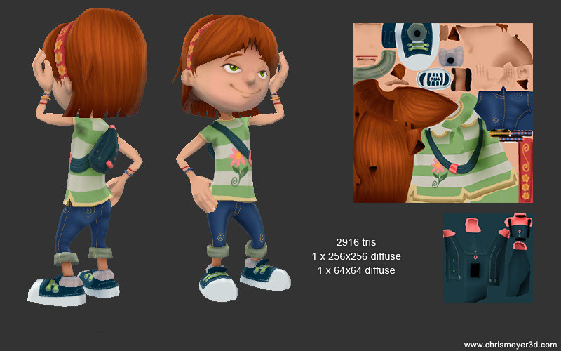 Playable Girl Character
