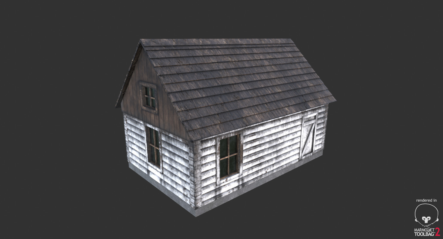 Cabin Ver.1 (Game Ready)