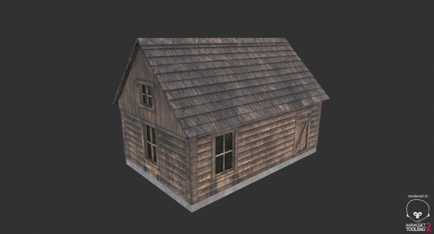 Cabin Ver.2 (Game Ready)
