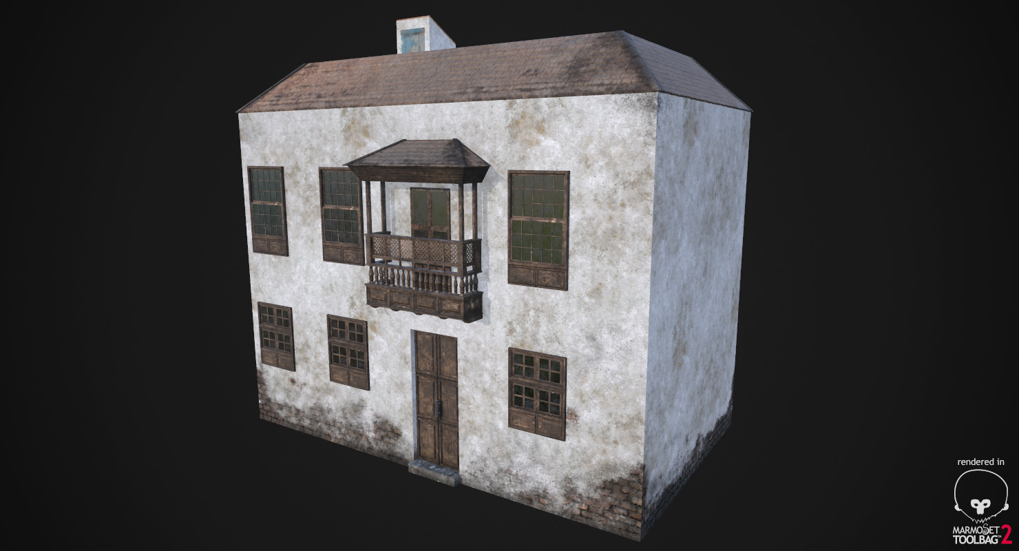 Old House Ver.1 (Game Ready)