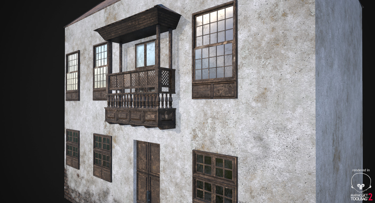 Awesome Artstation Old House Ver 1 Game Ready Isra Tan Download Free Architecture Designs Embacsunscenecom