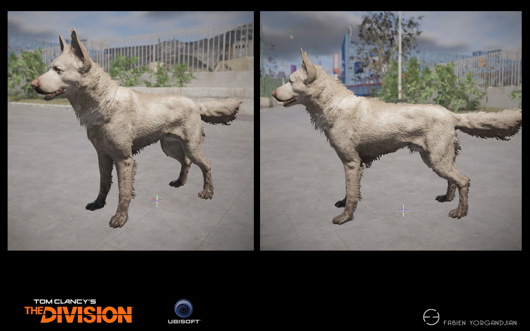 Fabien yorgandjian the division dog04 ingame