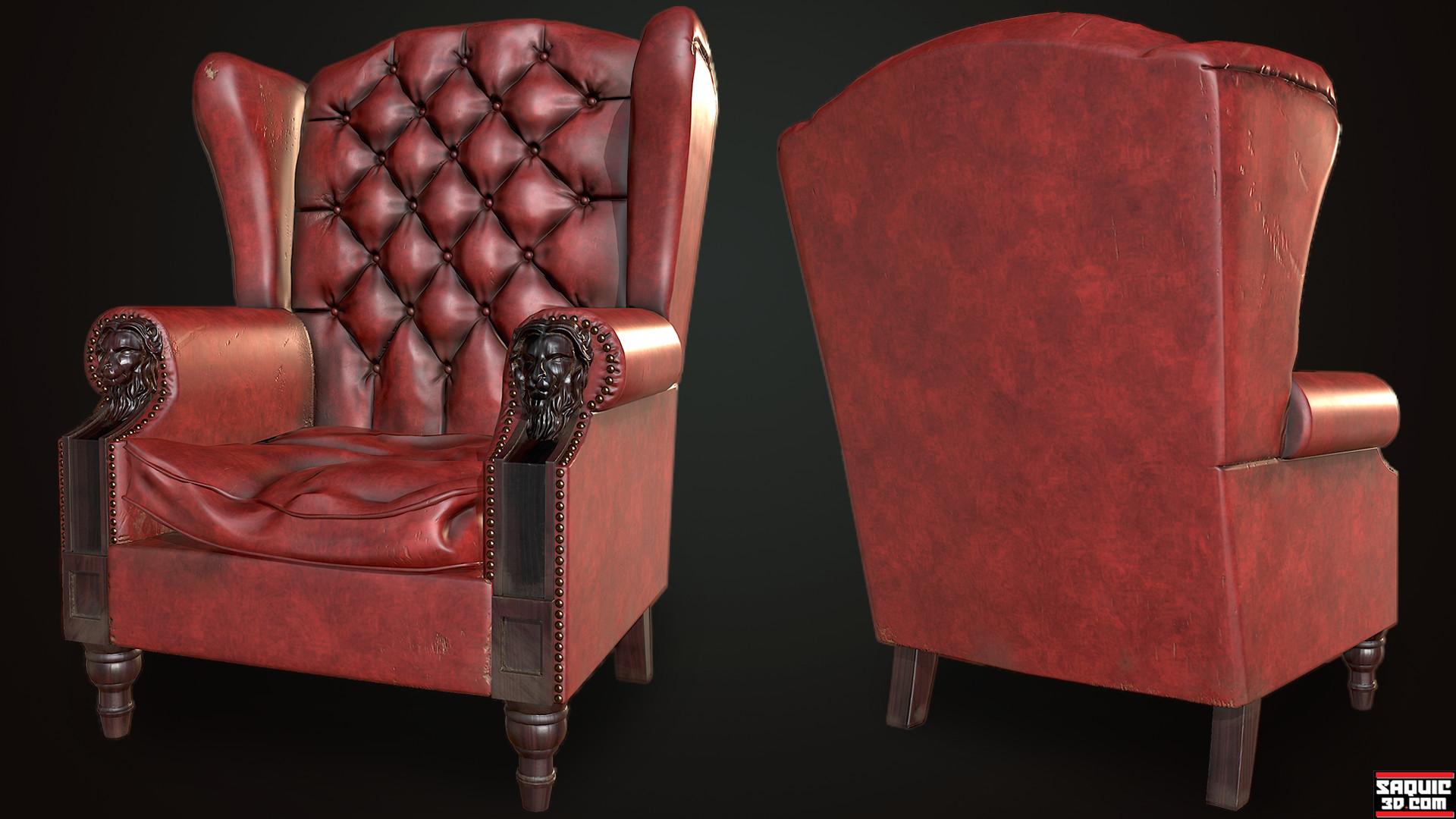 Chair High Resolution & ArtStation - Morpheus Chair Rene Saquic