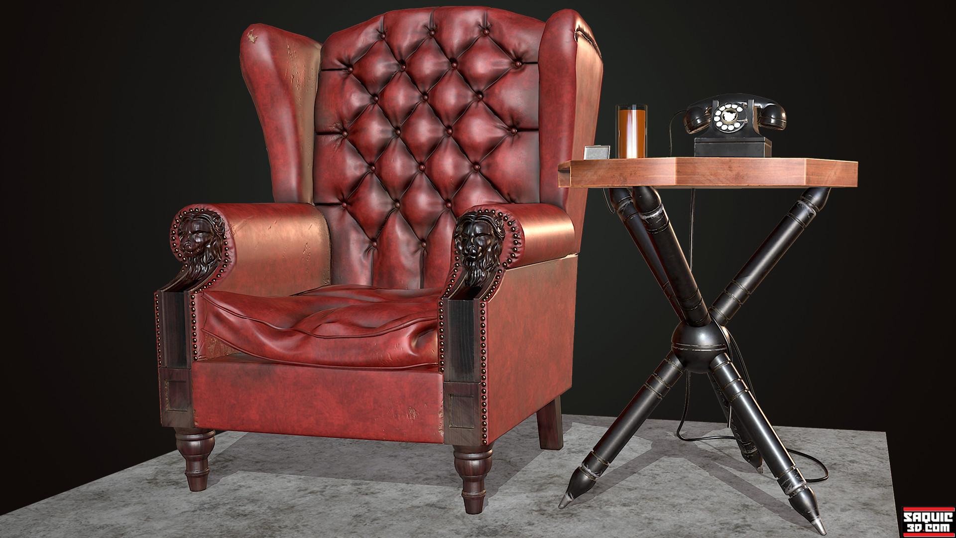 MORPHEUS CHAIR & ArtStation - Morpheus Chair Rene Saquic