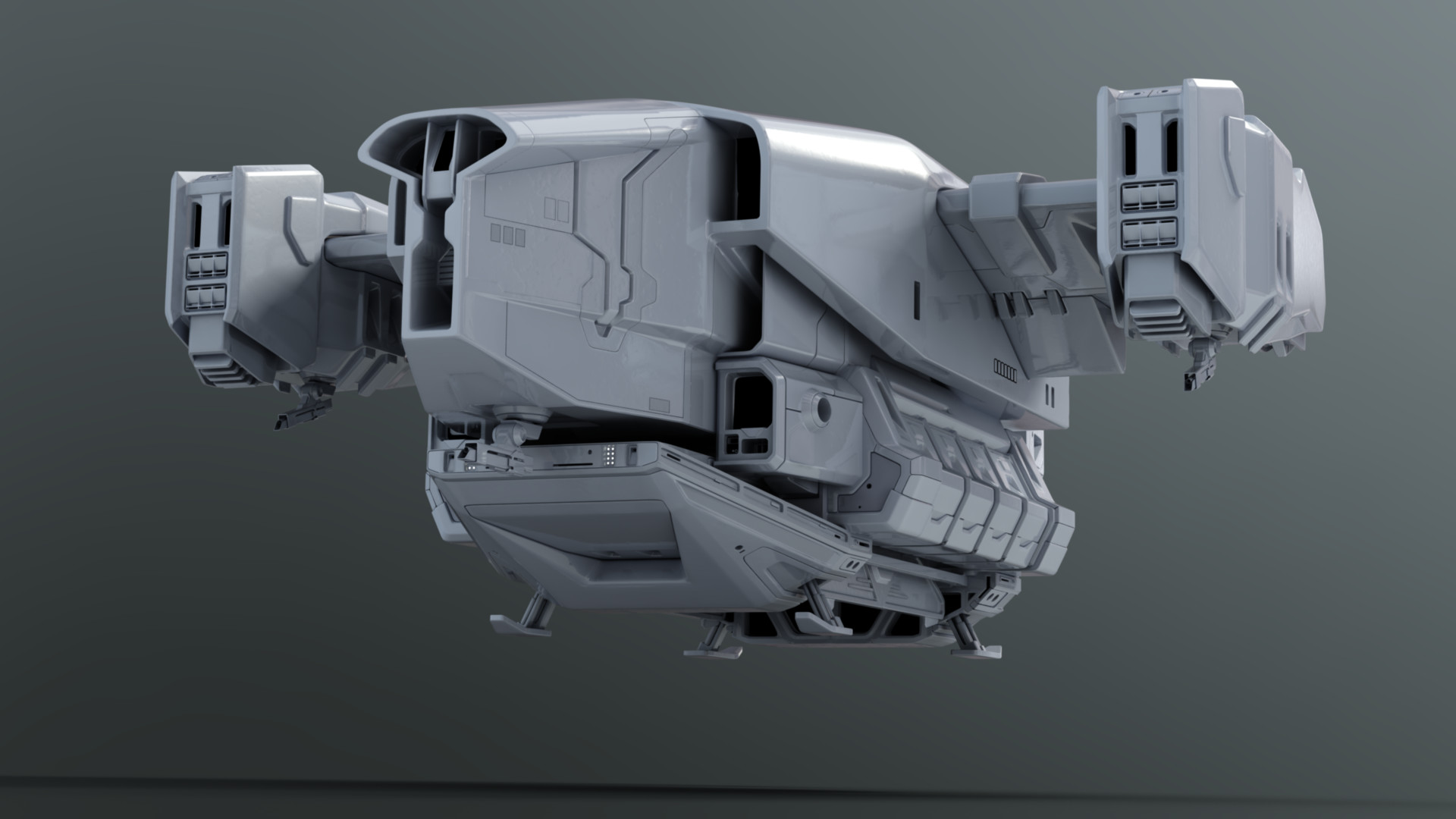 Travis Brady Destiny Cabal Dropship