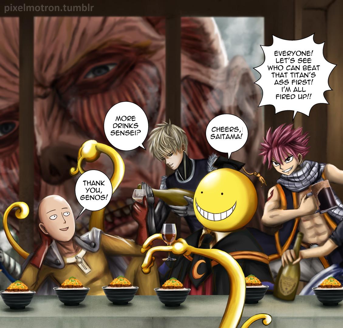 Mo Izarin The Last Supper Anime Crossover Version
