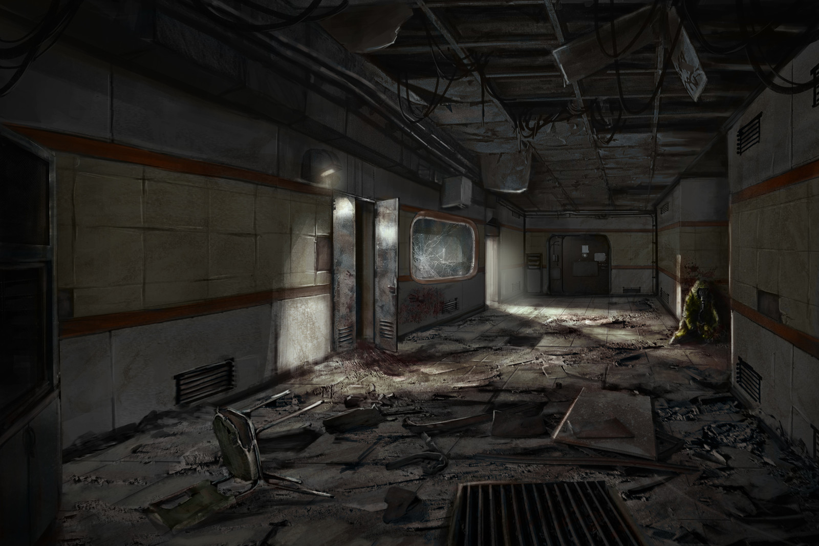 Abandoned Research Facility