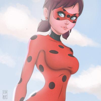 Esh art miraculous ladybug
