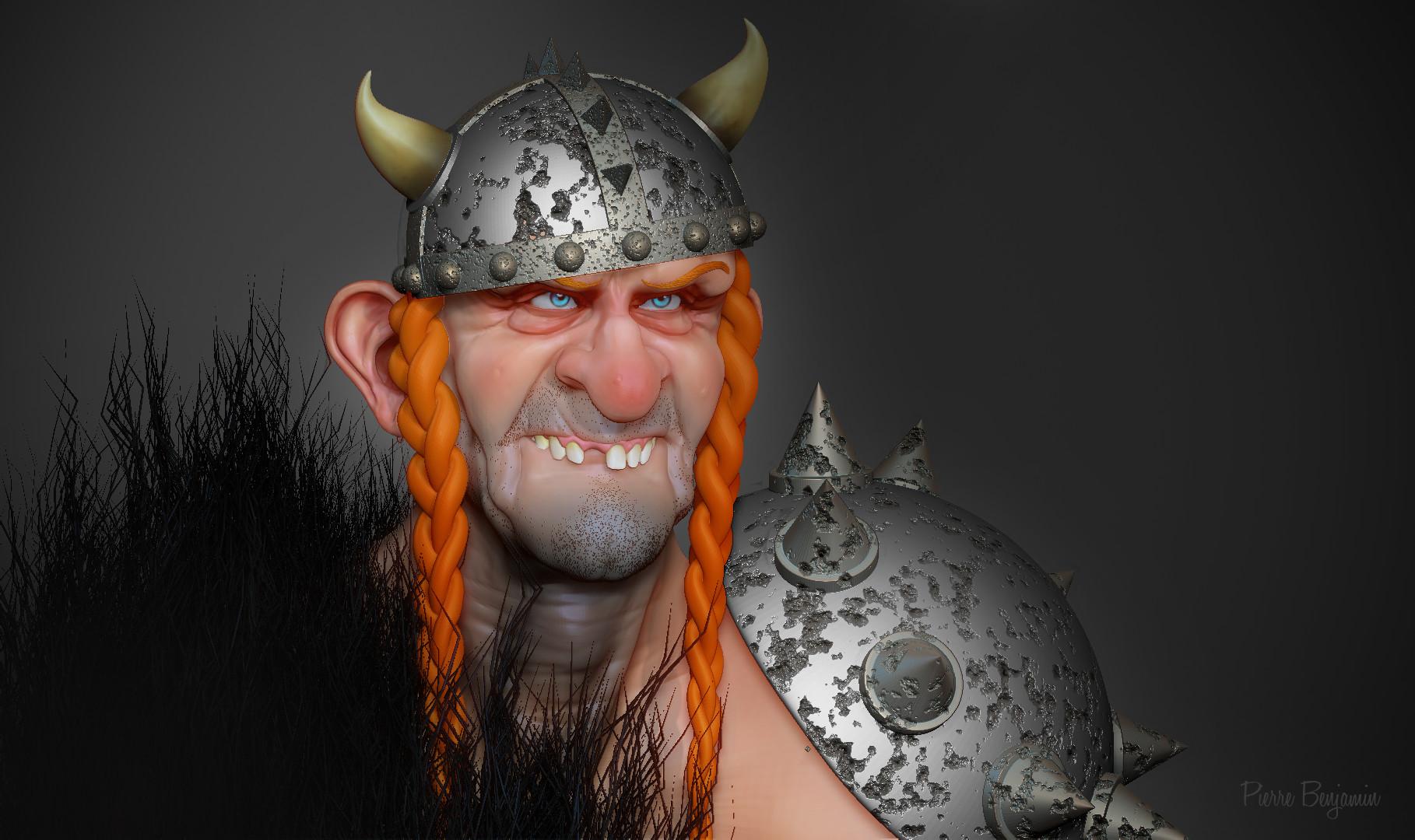 Pierre benjamin dude viking funny 004