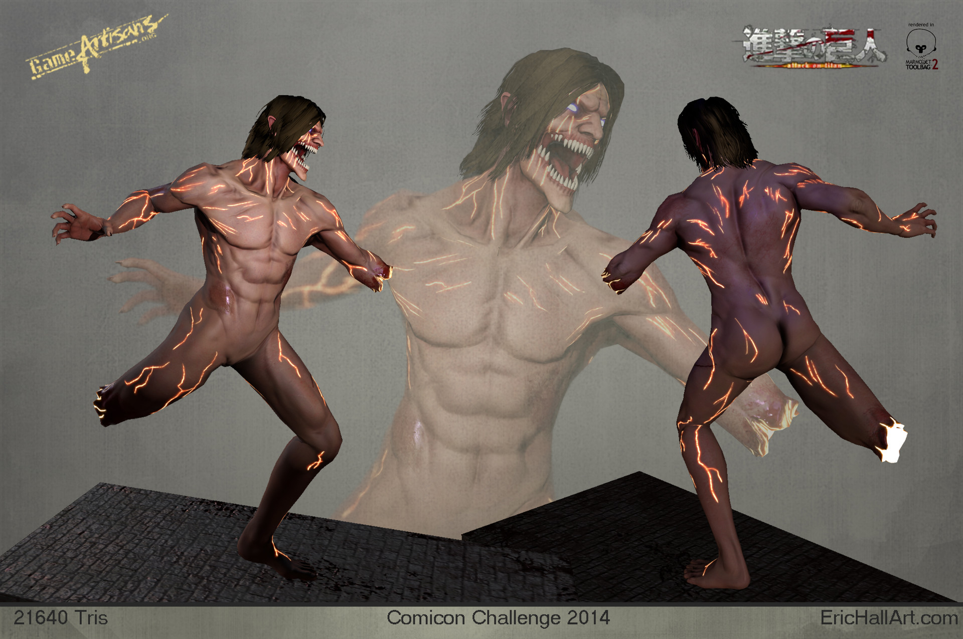 Eric hall eren actionpose