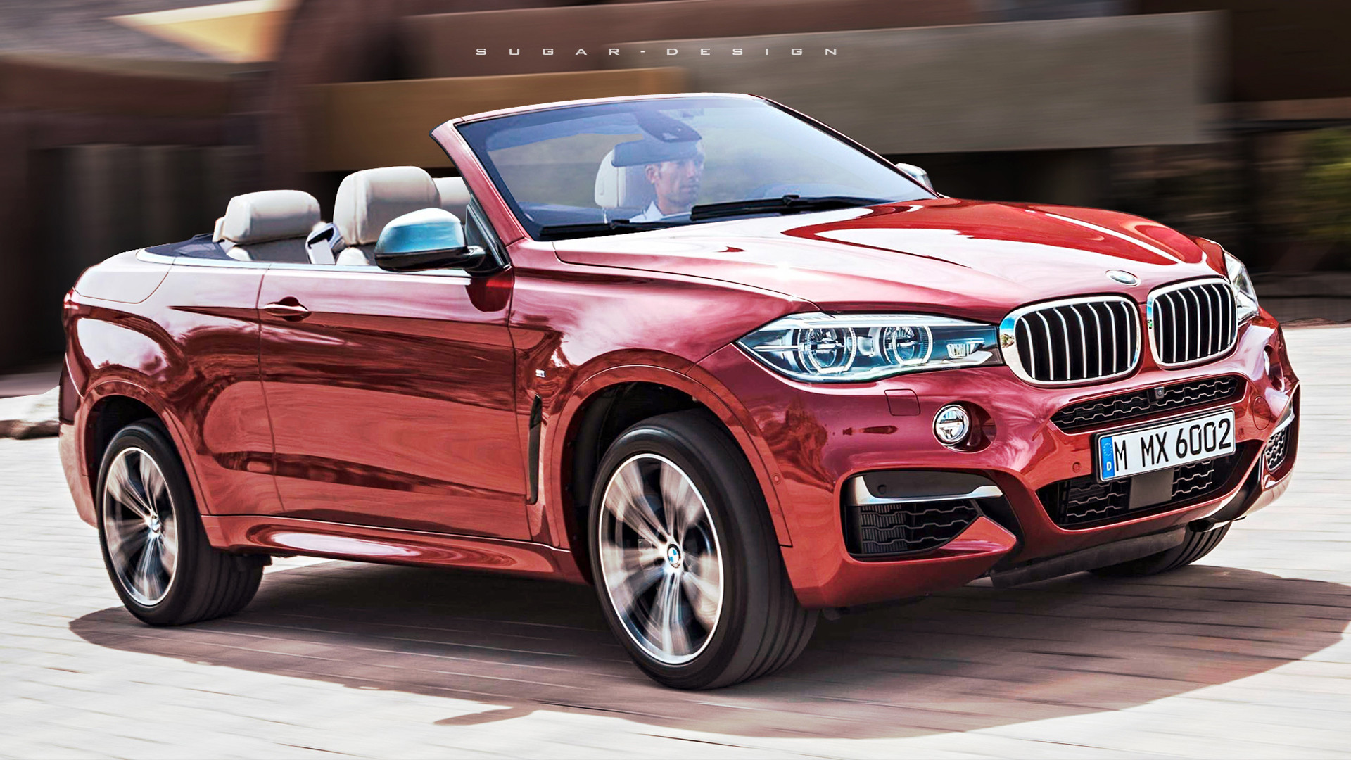 Sugar Chow Bmw X6 Convertible