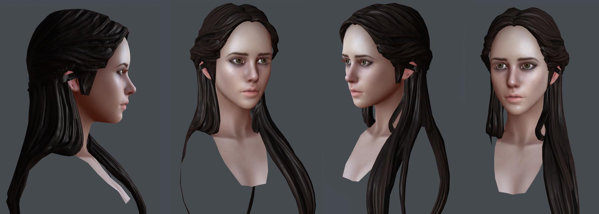 Layna lazar maiden textures 02