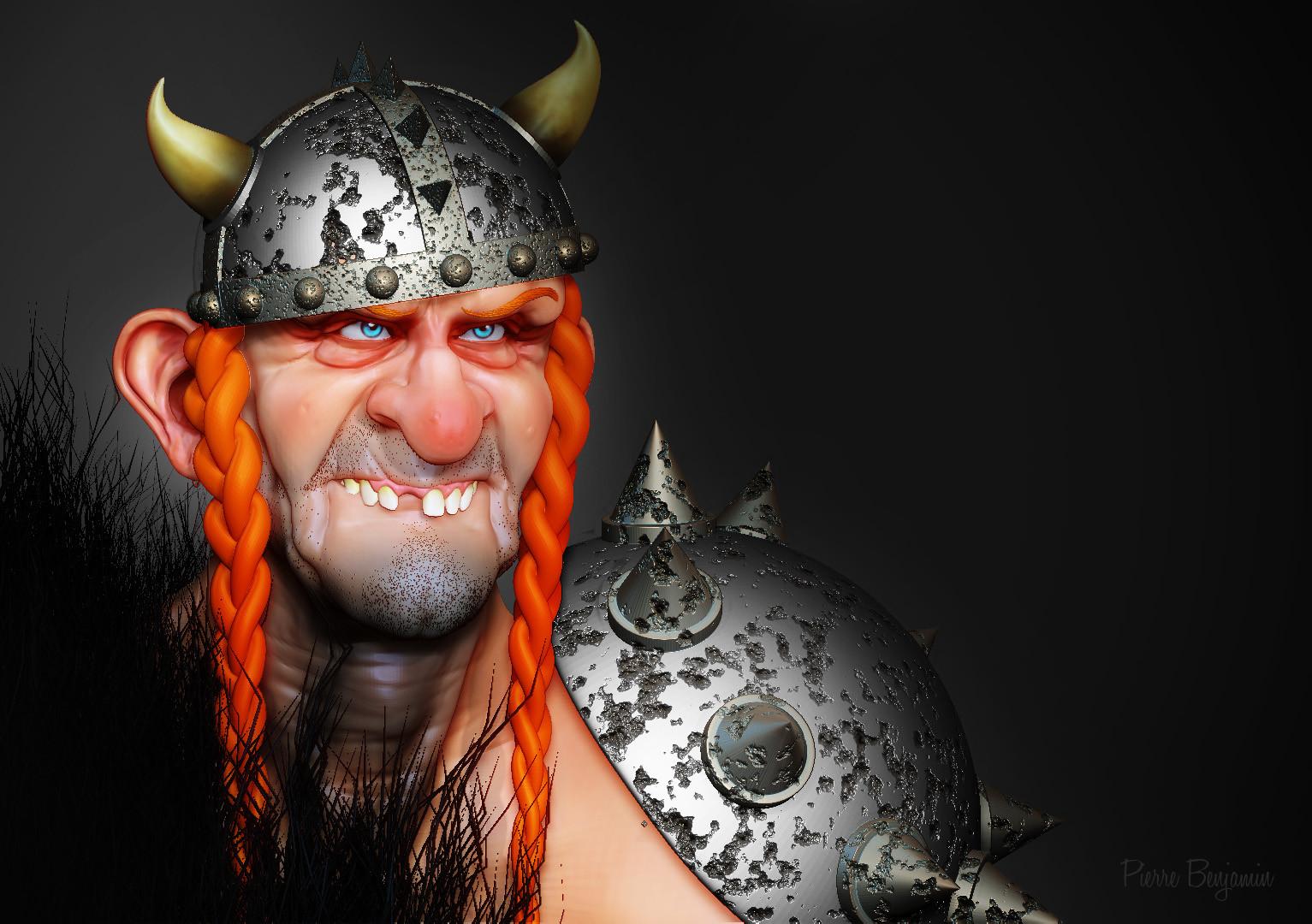Pierre benjamin dude viking funny 005