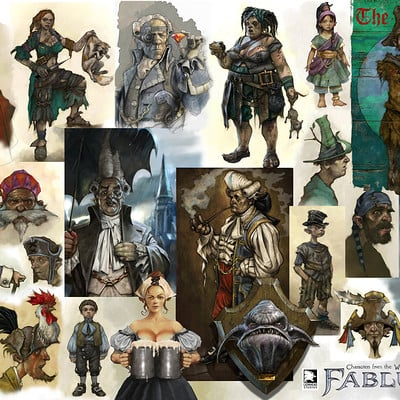 Mike mccarthy people of fable2