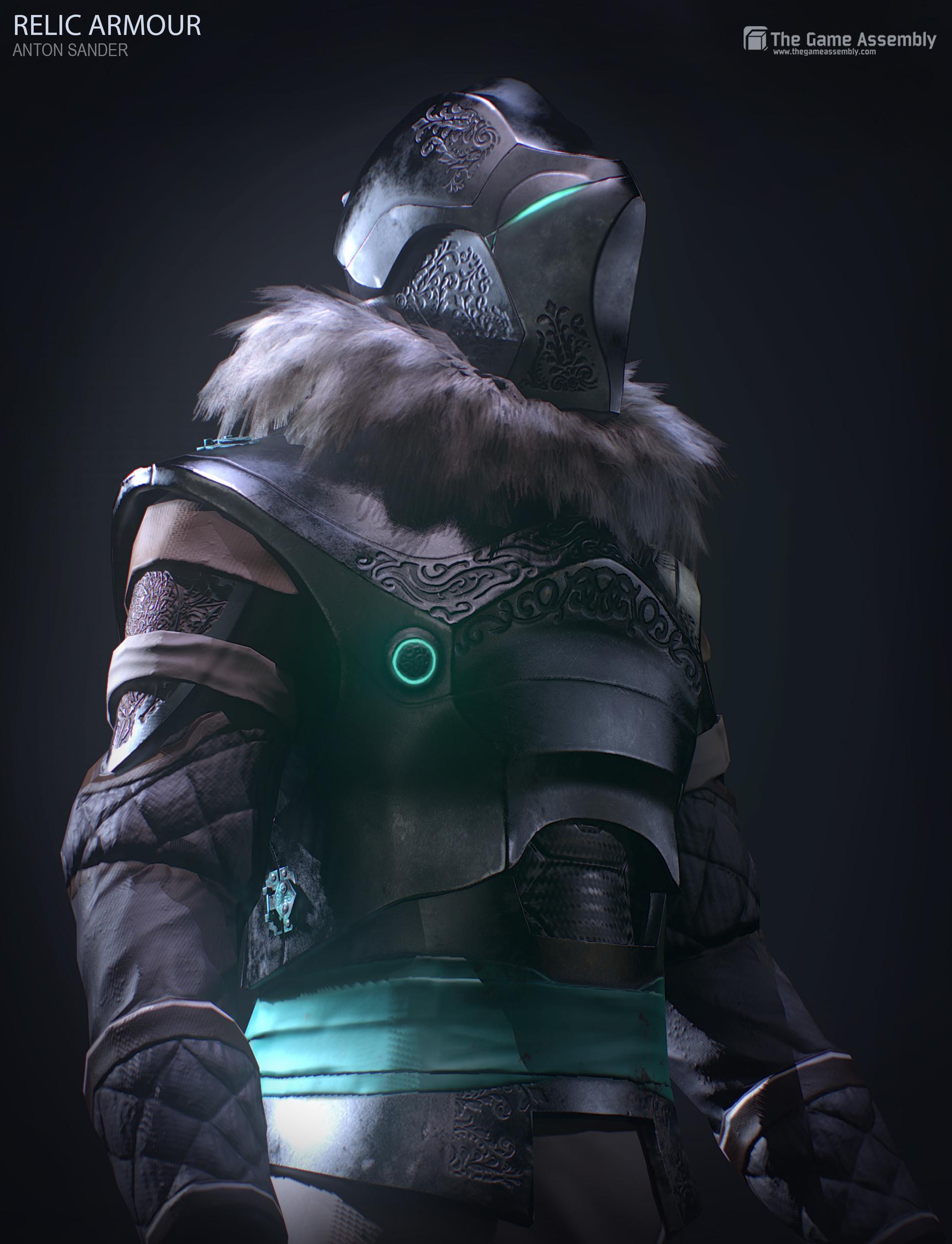 Anton sander relic armour b