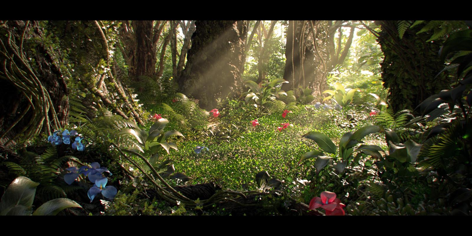 3D Jungle #02