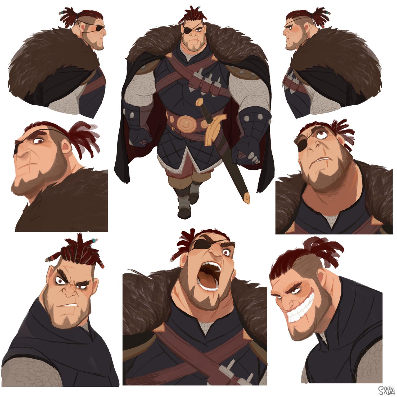 Character Design Art Style : Artstation robin hood quot prince john s henchman hong