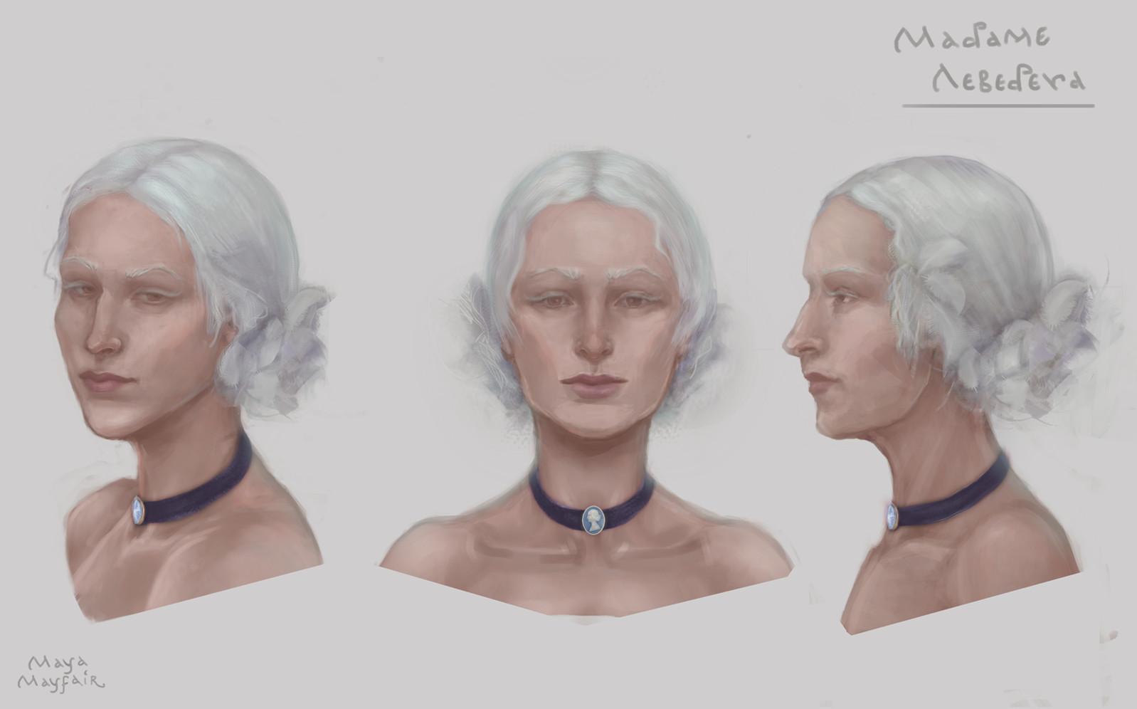 Maya grishanowitch madamelebedeva face