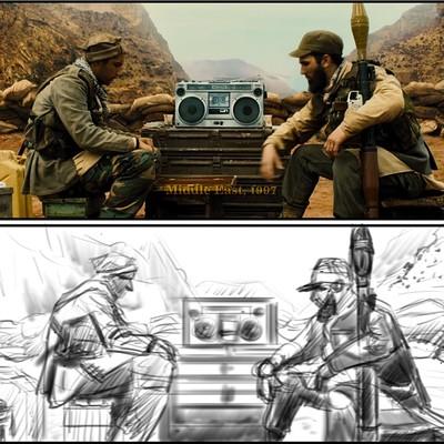 Storyboards - REDRAW THOSE SHOTS! - Kingsmen, The Secret Service