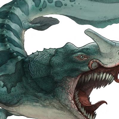 Edin durmisevic deep blue creature