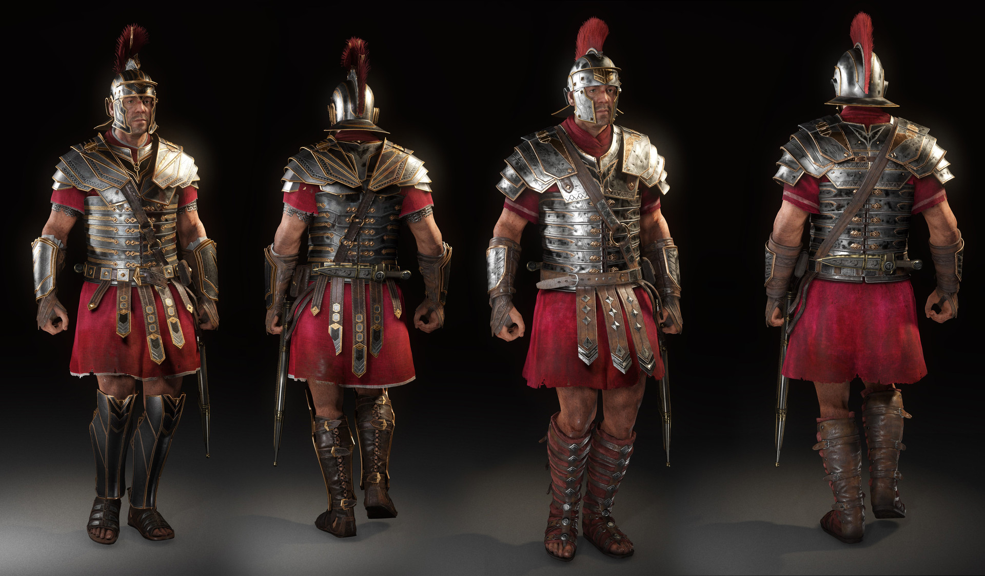 a study of the armor used in ancient rome
