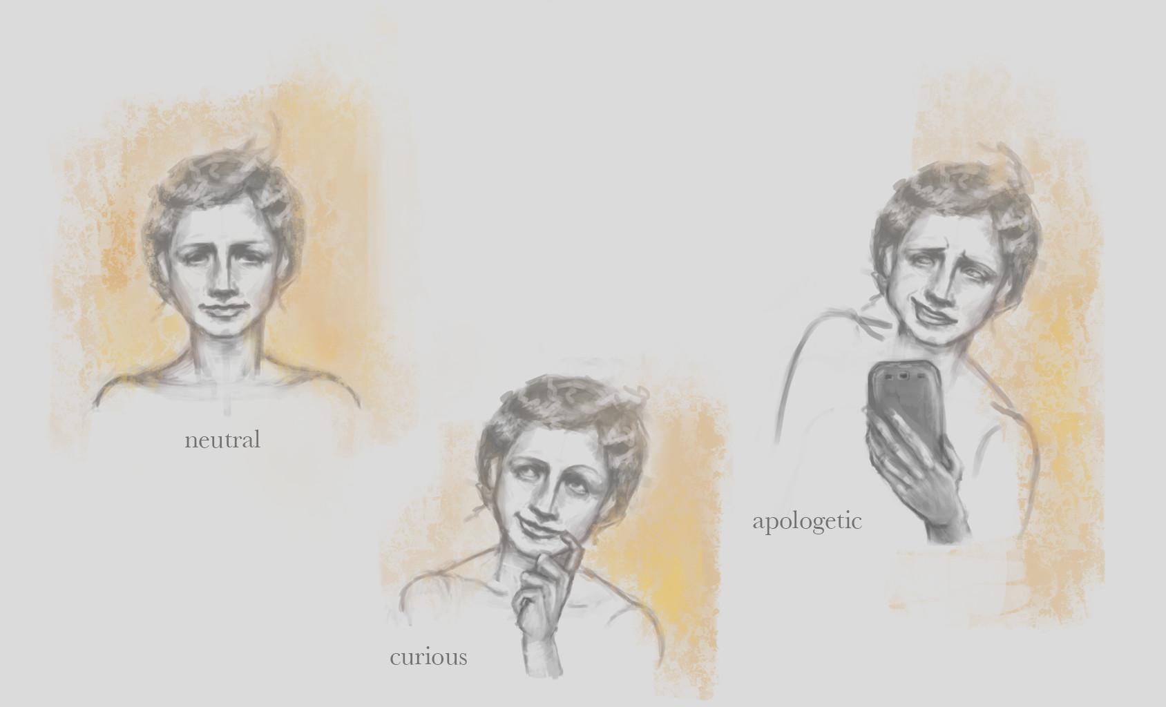 Maya grishanowitch expressions actress 3piece