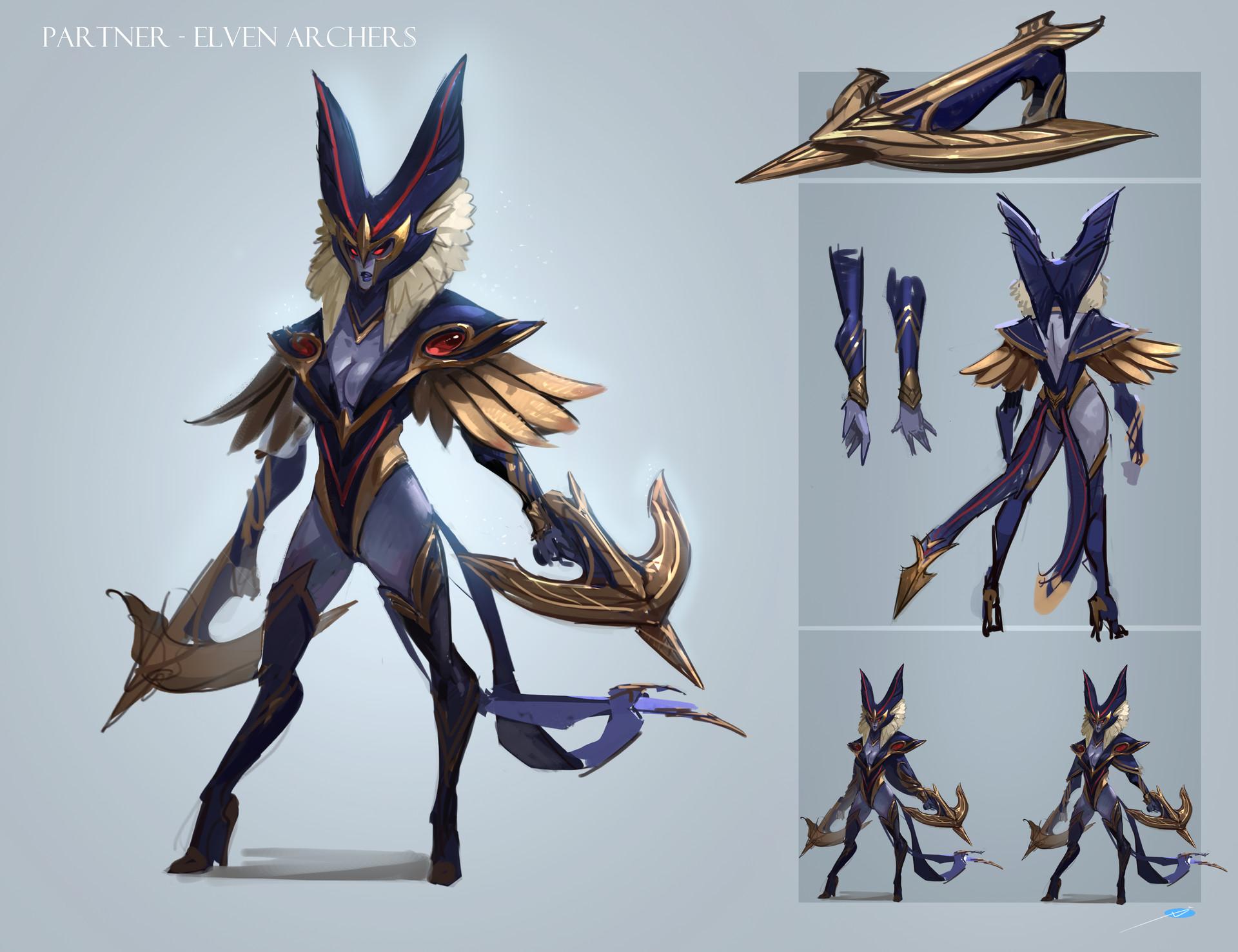 Gnomon Character Concept Design : Artstation design for last project hero xuexiang zhang