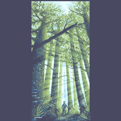 Dragan jakovljevic ilkke in the woods