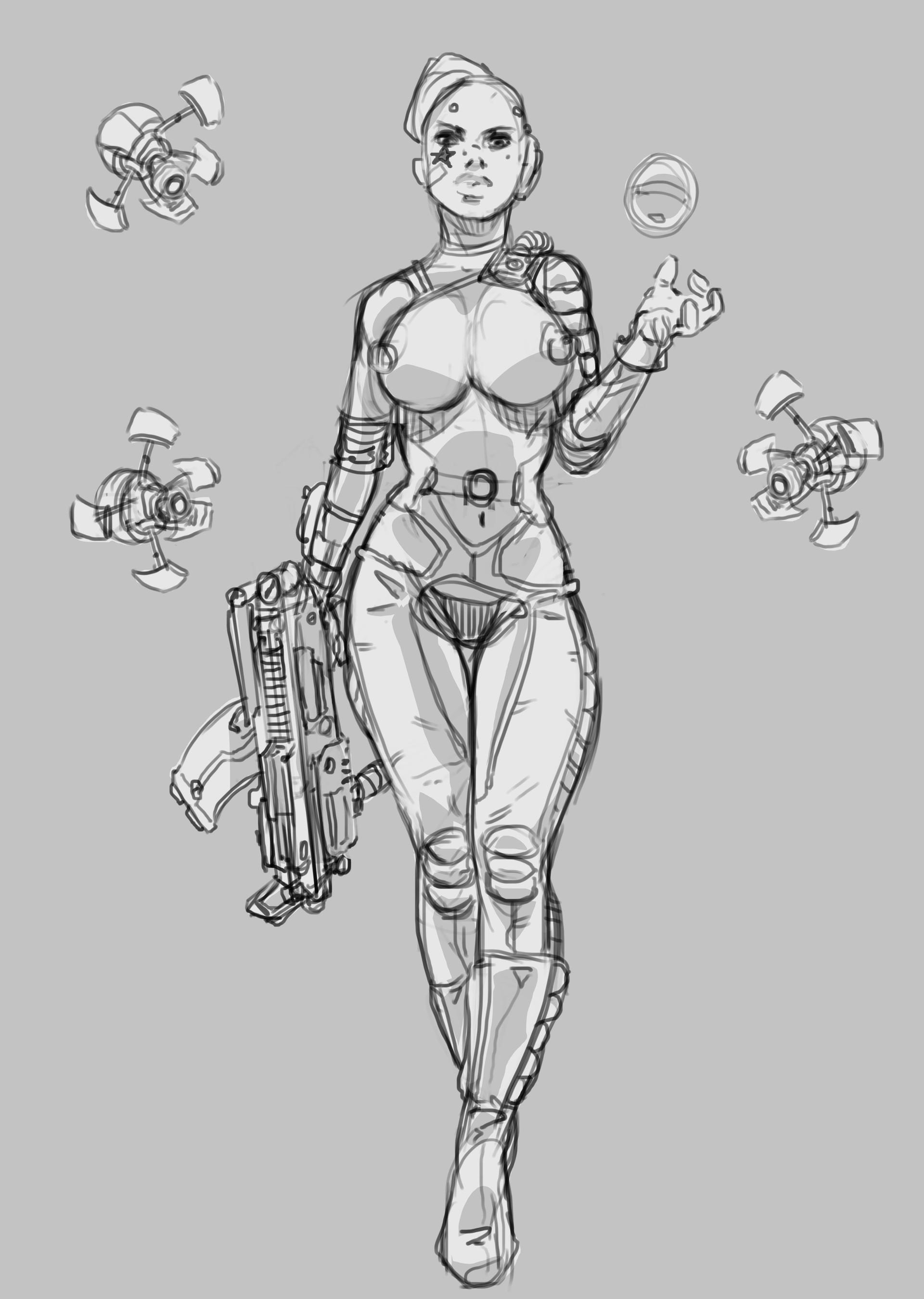 Salvador trakal sketch227