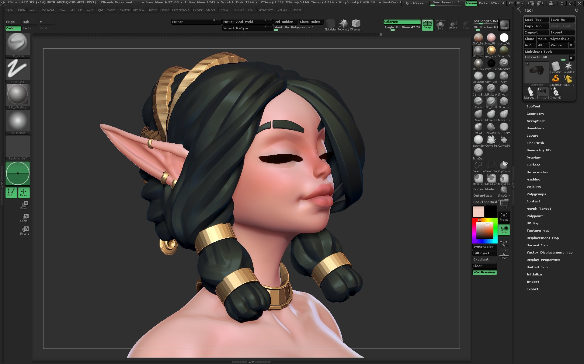 Mercurial forge zbrush64 2016 03 23 23 39 47