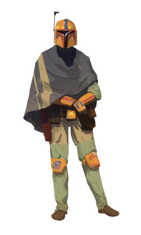 Olivier le borgne mandalorien