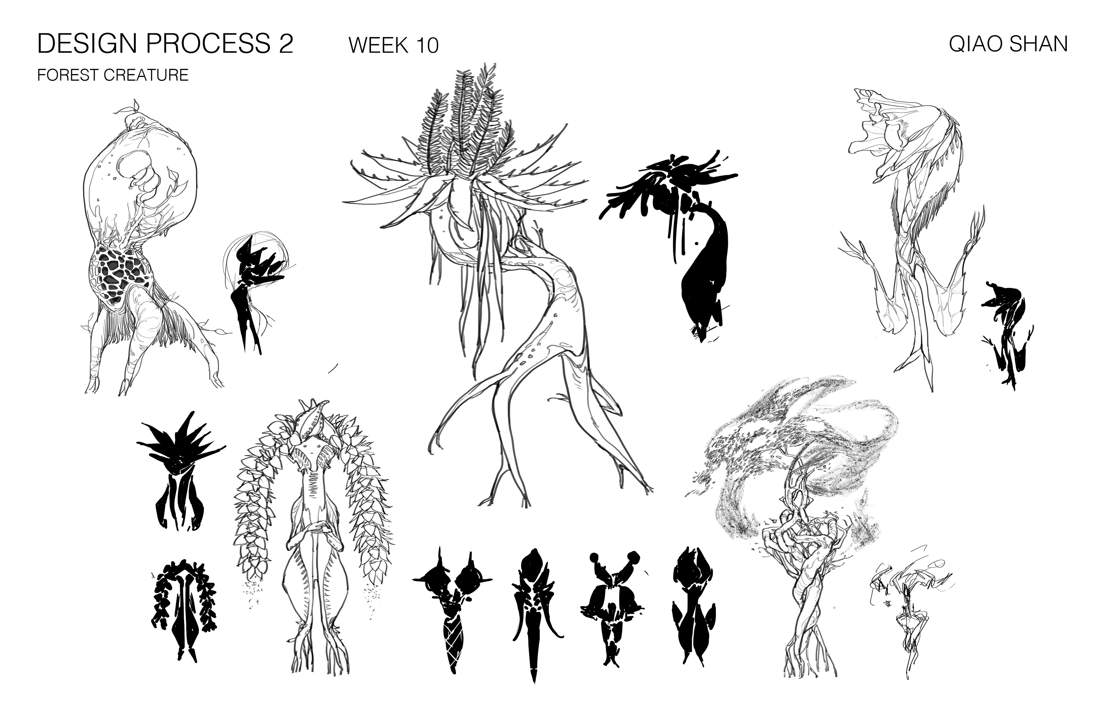 Forest Creature Ideations