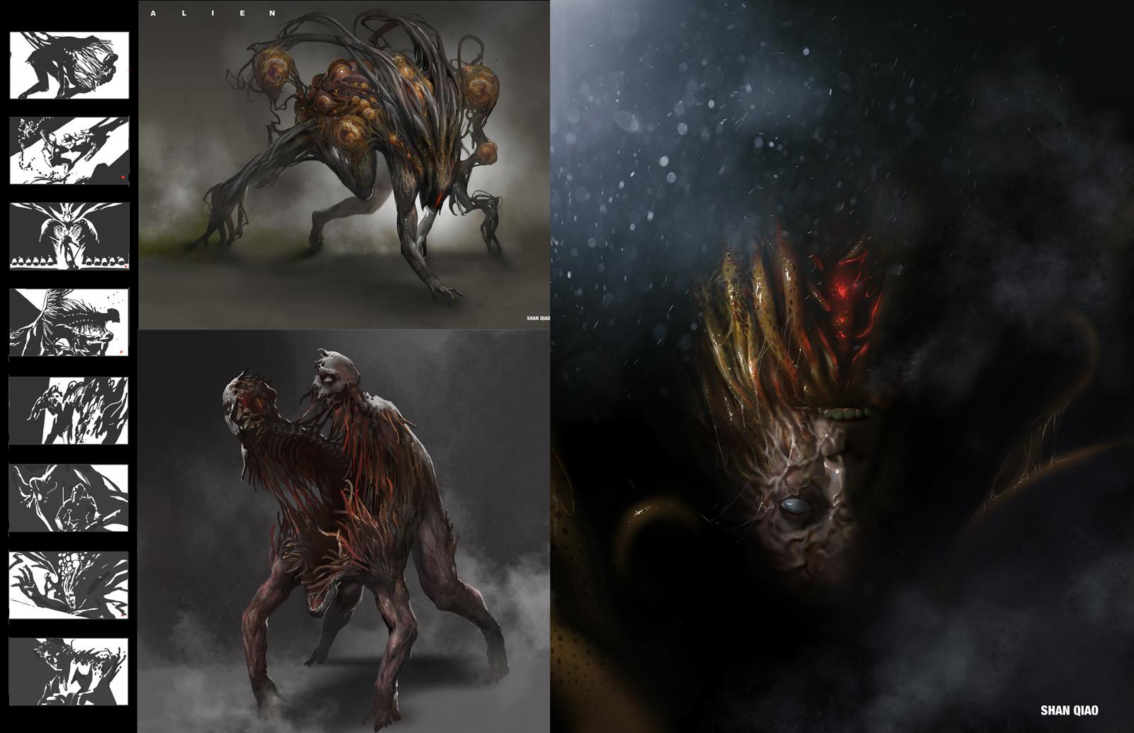 Shan qiao alien redesign shan qiao 027