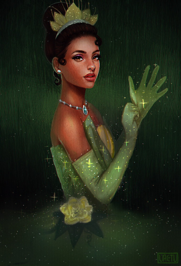 ArtStation  Princess Tiana Philip kaiten JR