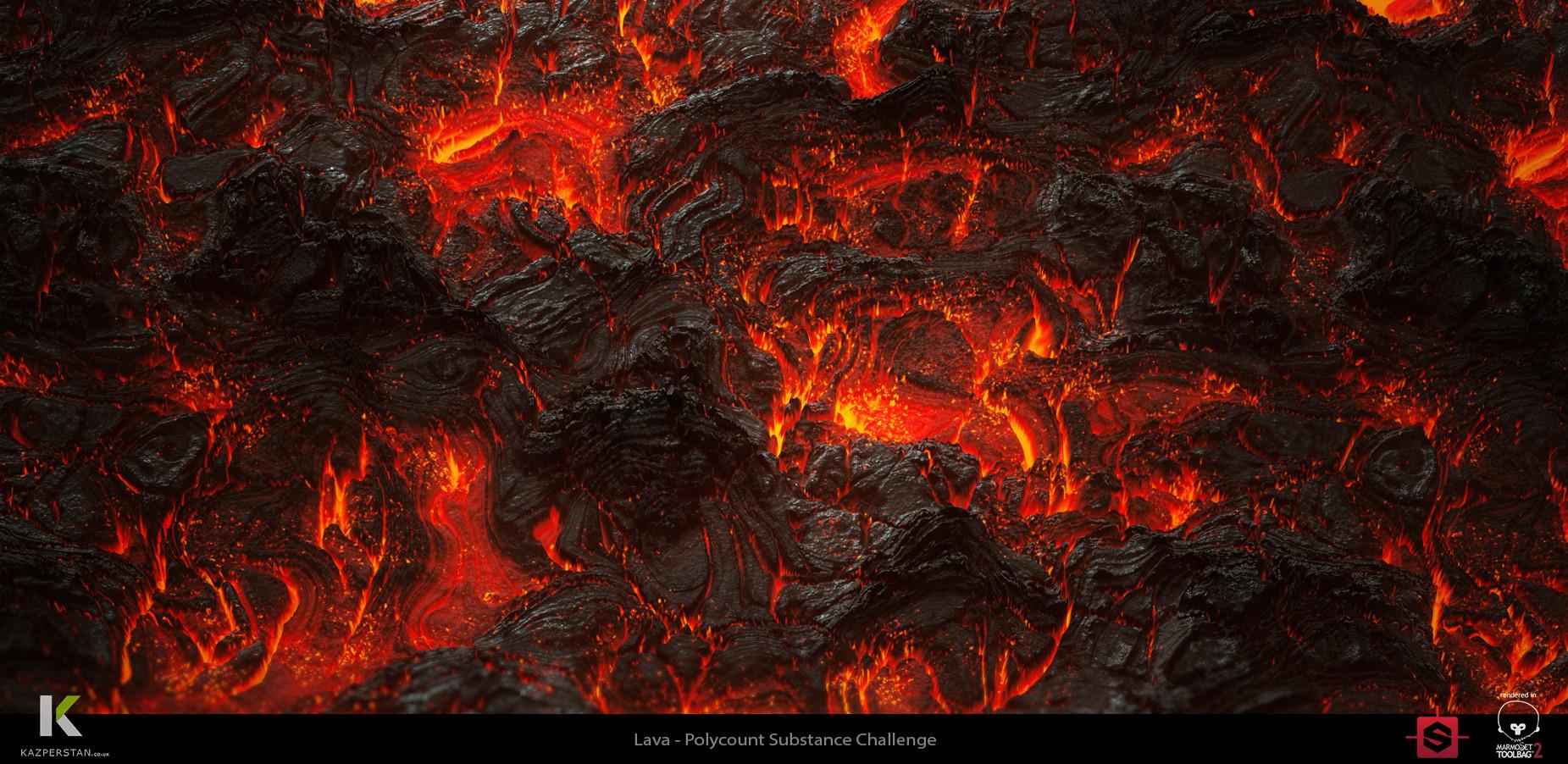artstation tutorial lava substance designer karen stanley