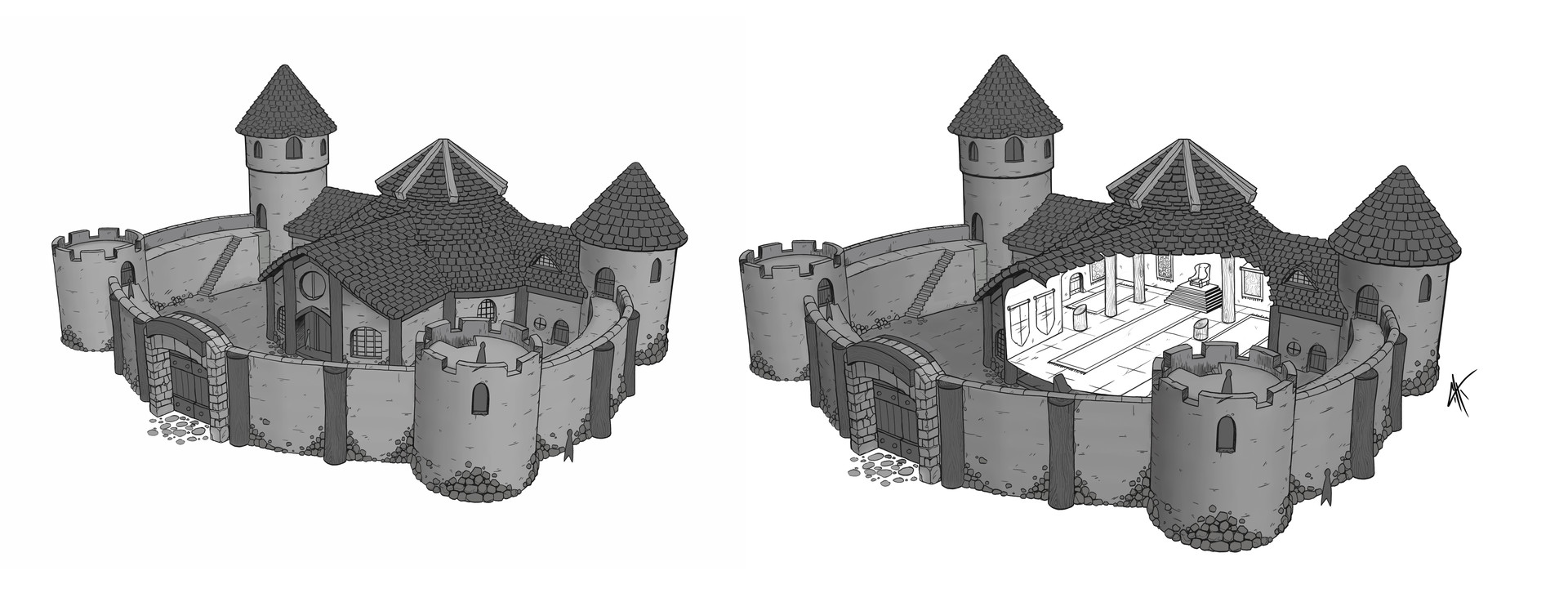 Christopher hayes cobb castle