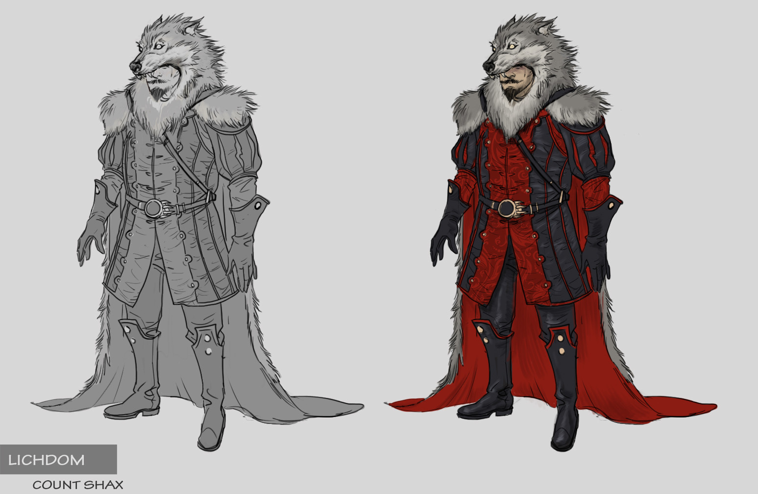 Count Shax concept