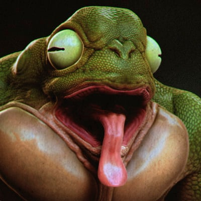 Sadan vague frog