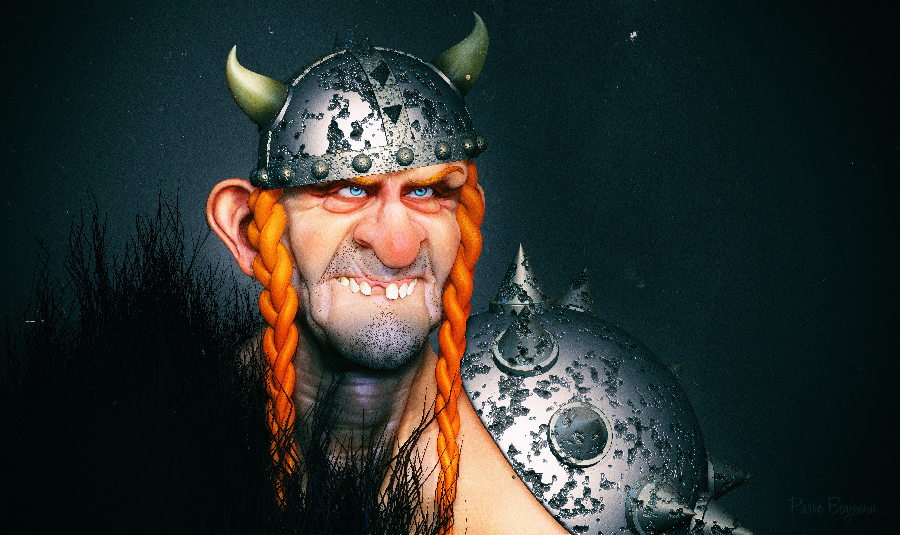 Pierre benjamin dude viking funny 0066