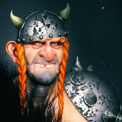 Viking dude WIP