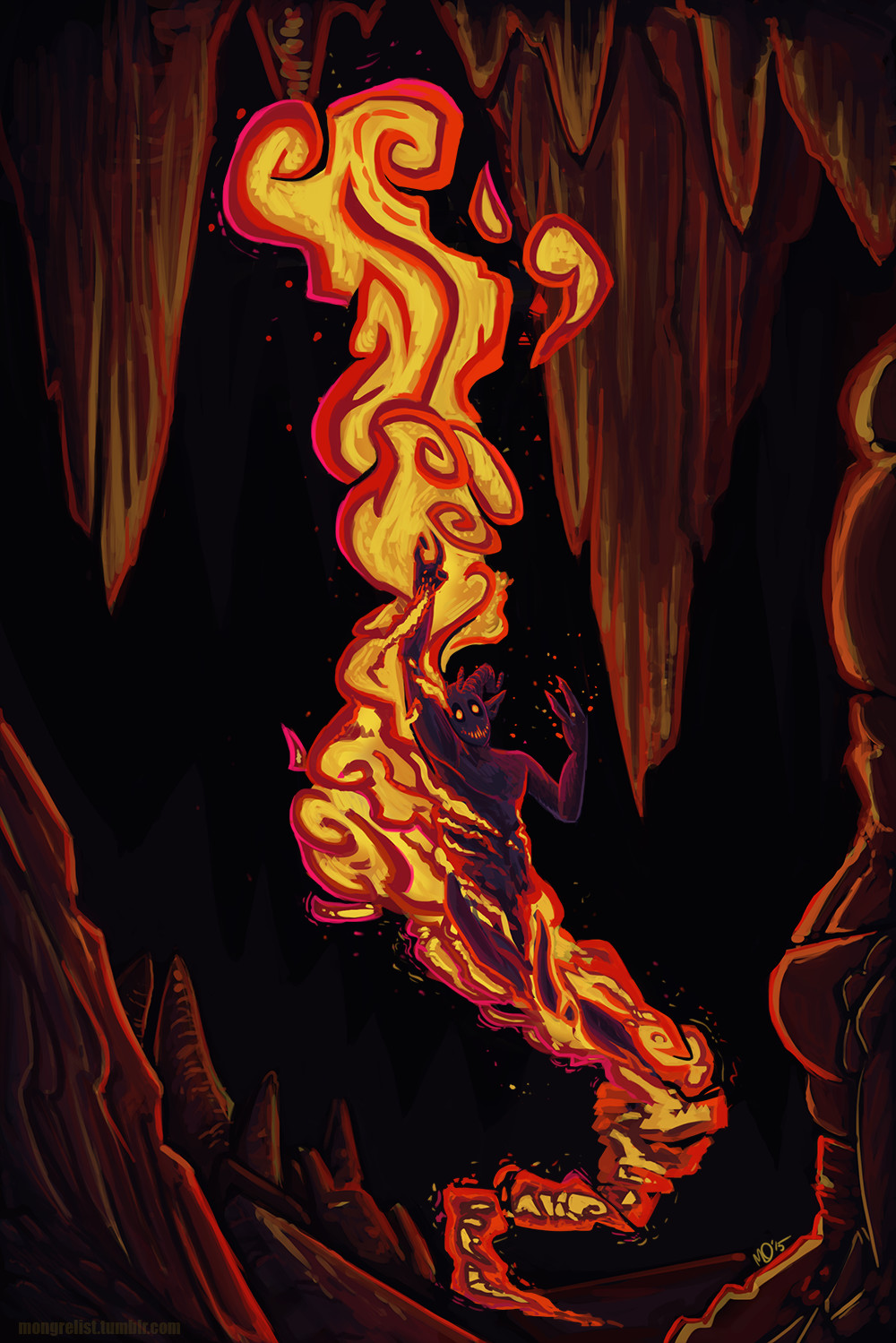 M o hanlon firestorm