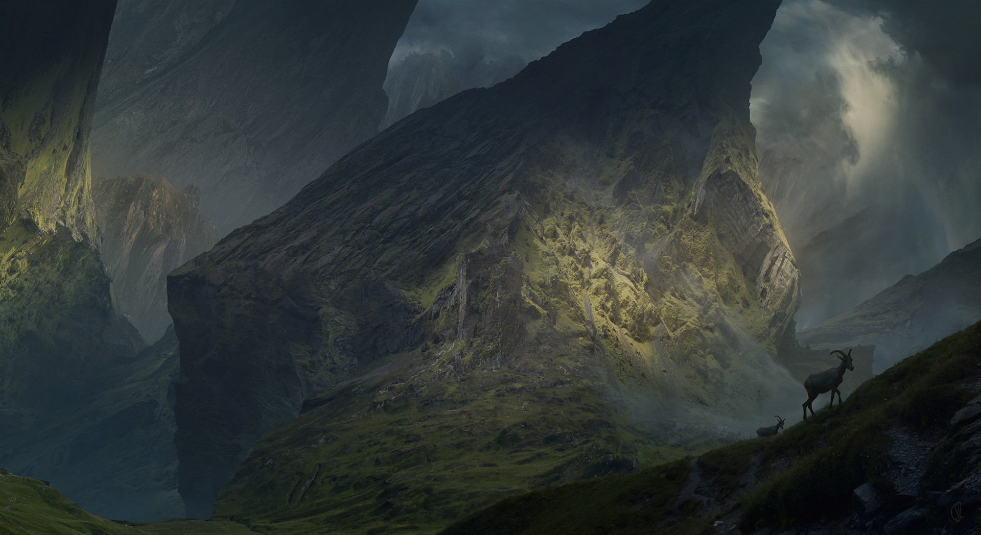 Jessica rossier conceptart jessica rossier where the seeping giants are hd