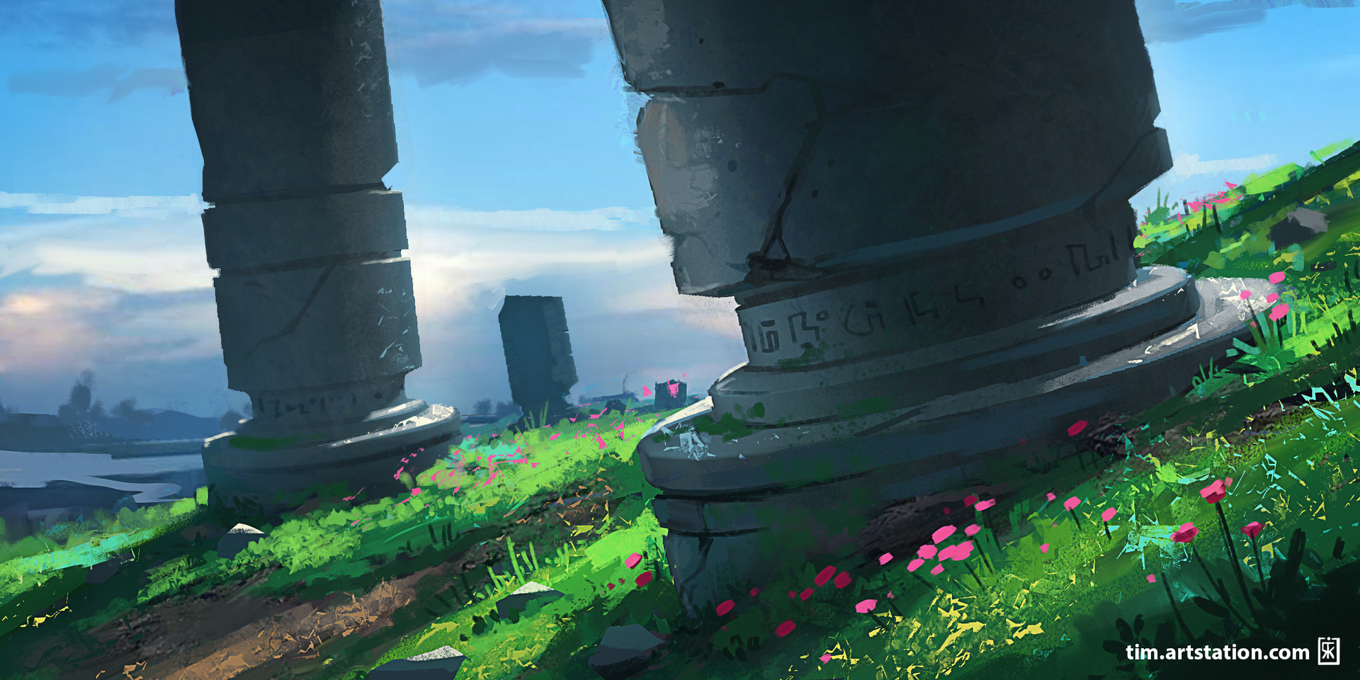 Desolate Pillars