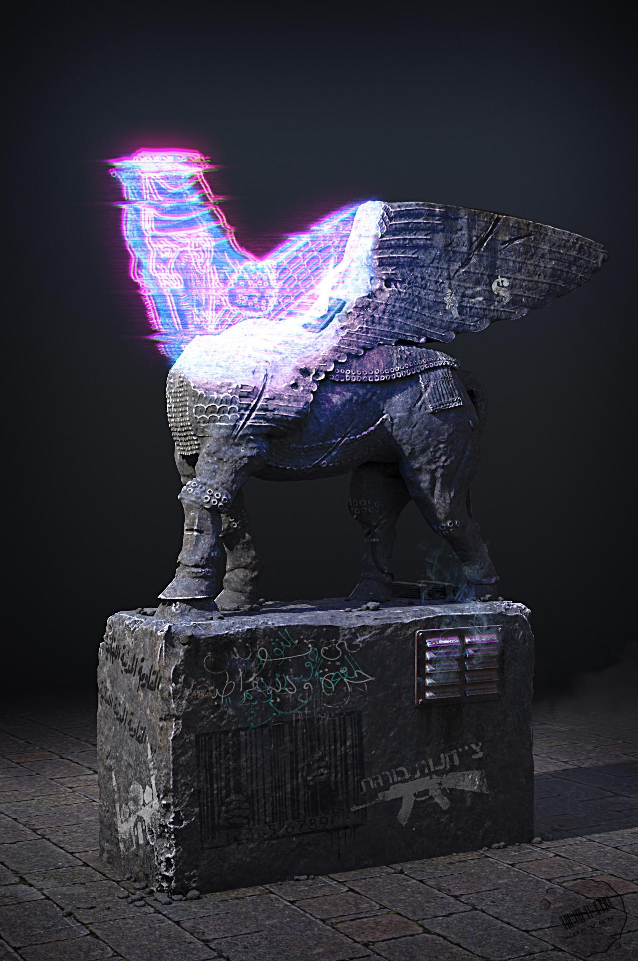 Devon fay statue 001