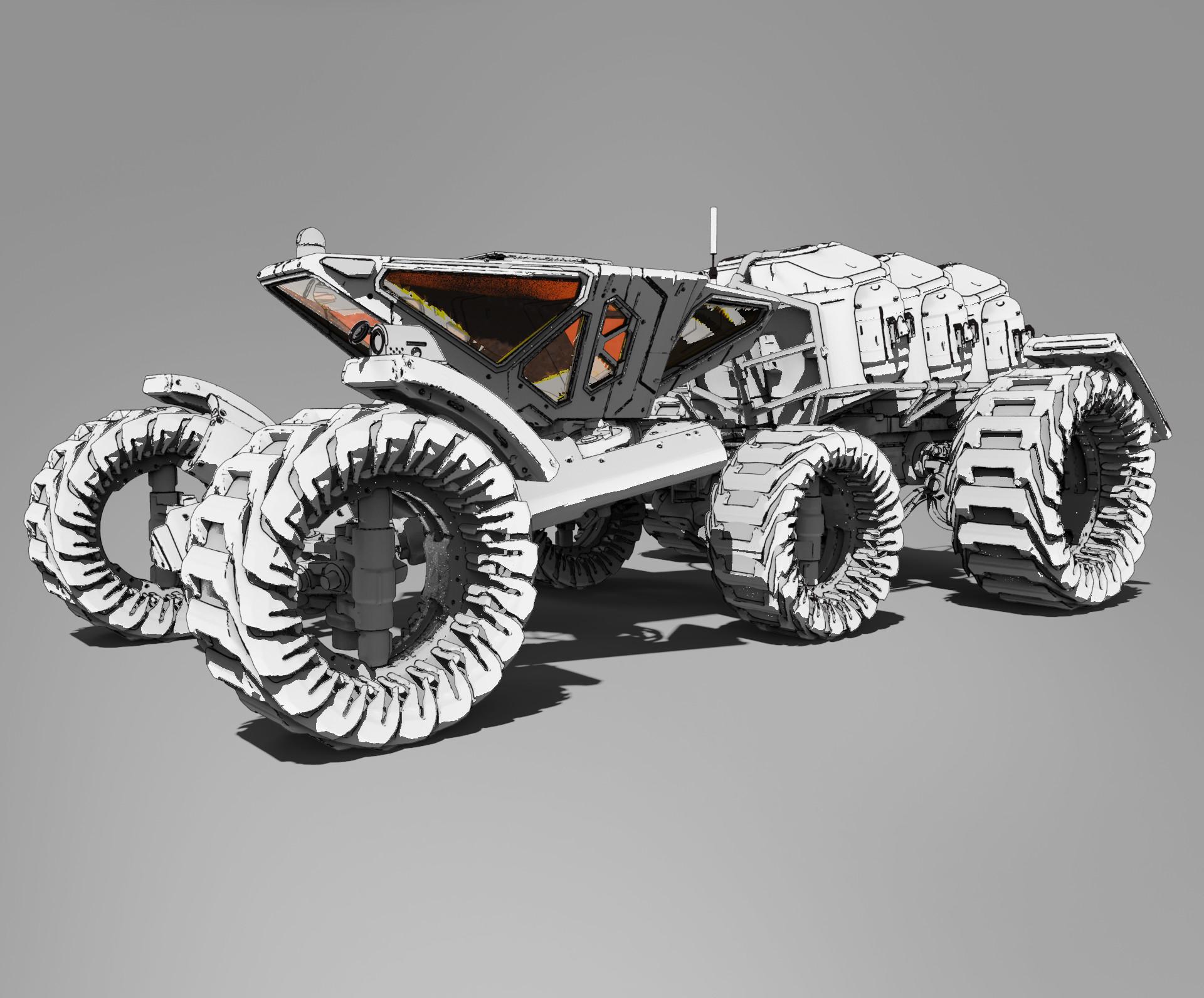 Roberto robert mars buggy kitbash 62